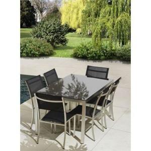 Pack avantage ensemble table + 6 chaises Buenos Aires