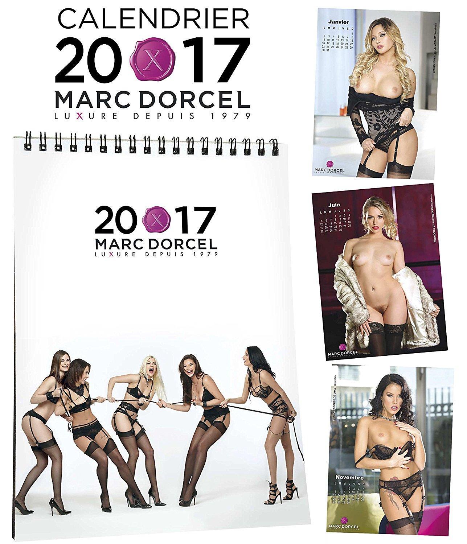 Calendrier Adulte Marc Dorcel 2017