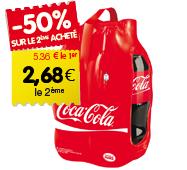 2 packs de Coca-Cola 4x1,5L