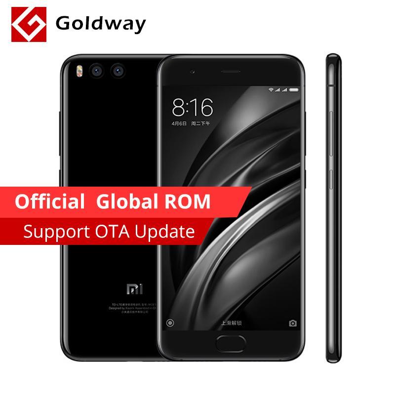 "Smartphone 5.15"" Xiaomi Mi6 Noir - Snapdragon 835, RAM 6 Go, ROM 128 (Sans B20)"
