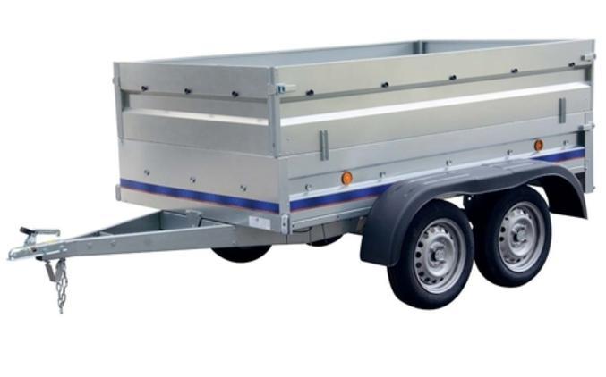 Remorque utilitaire RA230 + Rehausses métalliques - 279Kg de charge max