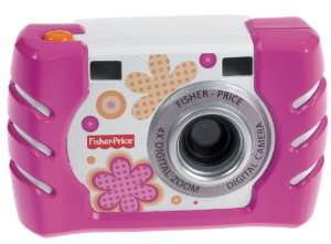 Appareil photo anti-chocs FisherPrice W1460 rose