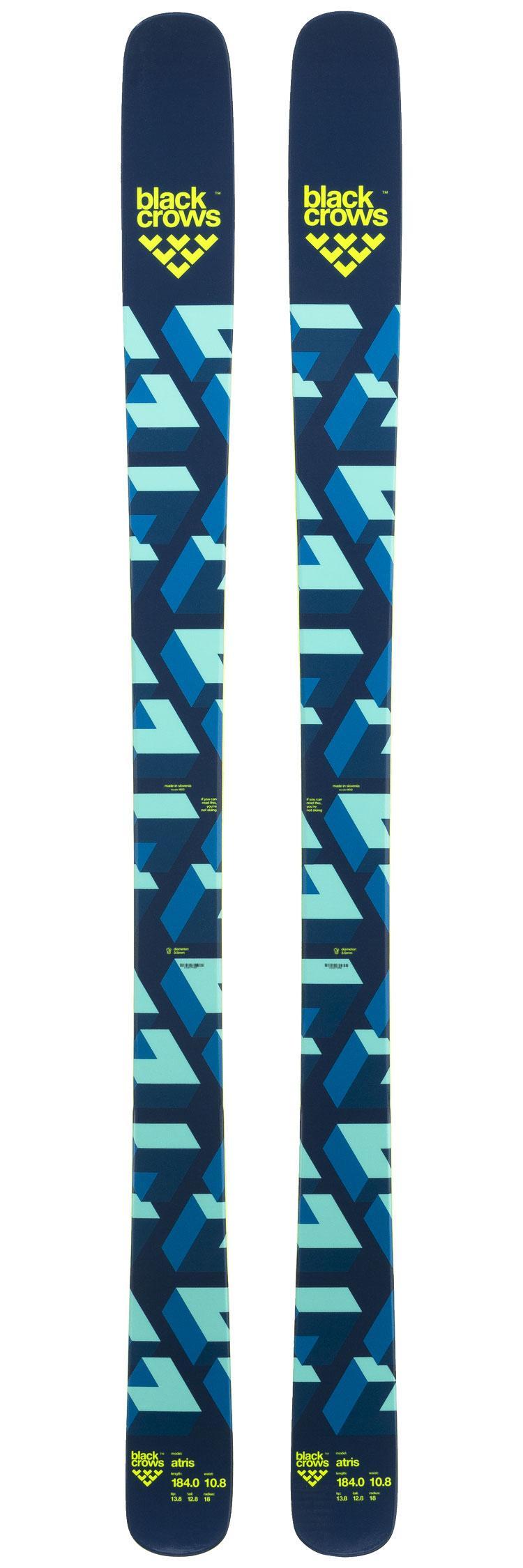 Pack - ski de randonnée Atris Black Crows (178, 184 ou 189 cm) + fixations Marker Tour F12 EPF (11 cm, noir, S ou L)