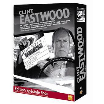 Coffret 10 DVD Réalisateur Clint Eastwood