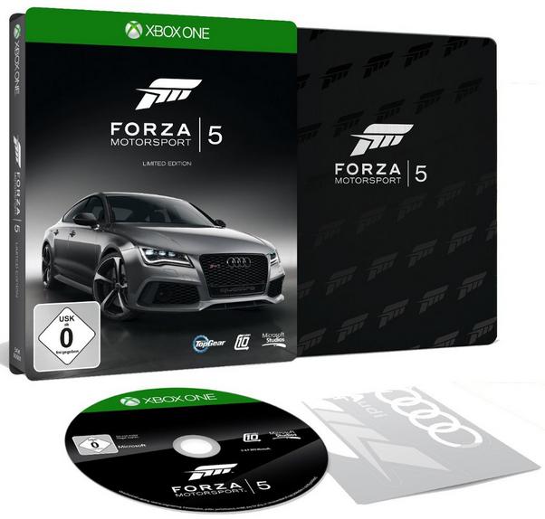 Forza Motorsport 5 Edition Limitée Steelbook sur XBOX One