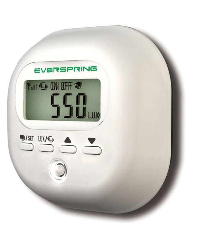 Capteur de luminosité Everspring Z-Wave avec écran LCD ST815
