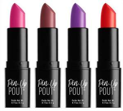 3 rouge à lèvres Pin-Up Pout - Plusieurs teintes