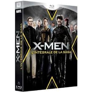 Coffret 5 Blu-ray X-men l'Intégrale (inclu X-Men : Le commencement)