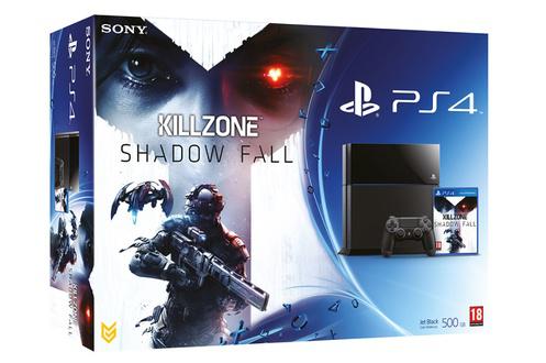 Console Sony PS4 + Killzone Shadow Fall (En stock)