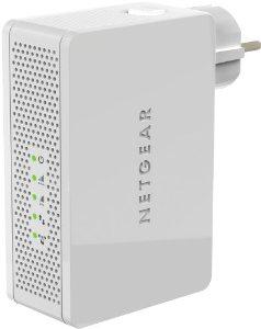 Repeteur universel Netgear WN3500RP-100FRS WiFi-N 600 Dual Band 1 port reseau