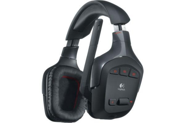 Casque micro Logitech G930 Wireless 7.1