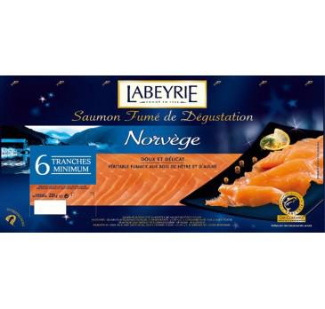 Saumon Labeyrie 15 tranches : 50% en eurocora