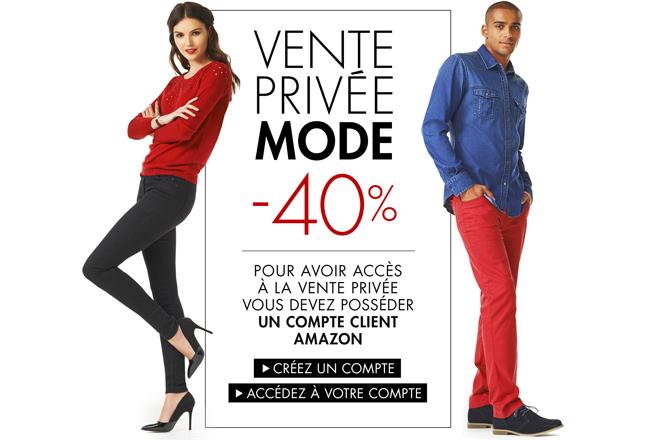Vente privée mode : 40% de réduction sur une sélection de vêtements