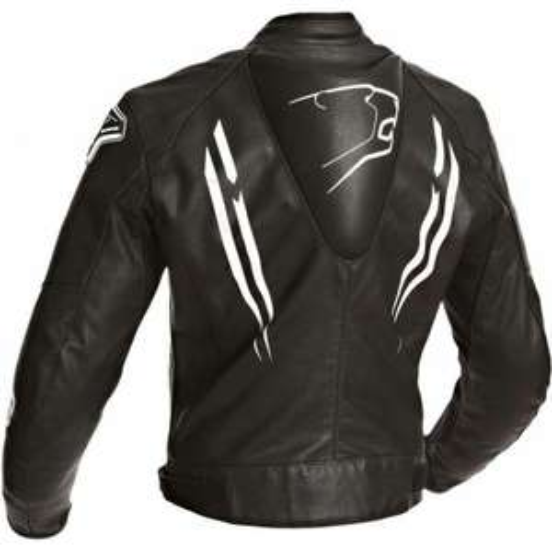 Blouson moto Bering sting-r - Noir et blanc