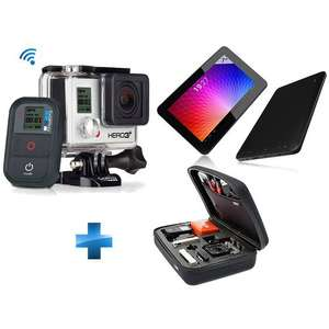 Pack GoPro HD Hero3+ Black Edition + Mallette souple + Tablette Tactile 7''