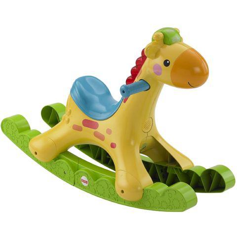 Ma girafe musicale à bascule de Fisher Price (50% crédités sur carte Waooh + 10€ via Shopmium)