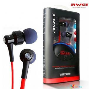 Ecouteurs intra-auriculaires Awei ES500i avec micro et télécommande
