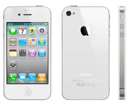 Smartphone iPhone 4S 8Go blanc