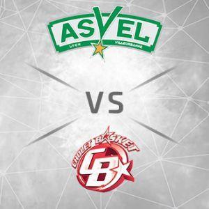 Place gratuite pour le match ASVEL/CHOLET le 30 septembre à 20h