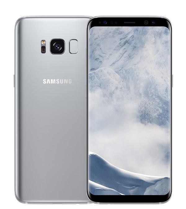 """Smartphone 6.2"""" Samsung Galaxy S8+ Plus - 64 Go, Argent ou Orchidée (Version EU)"""