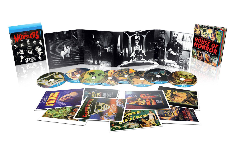Coffret 8 Blu-ray Universal Monsters