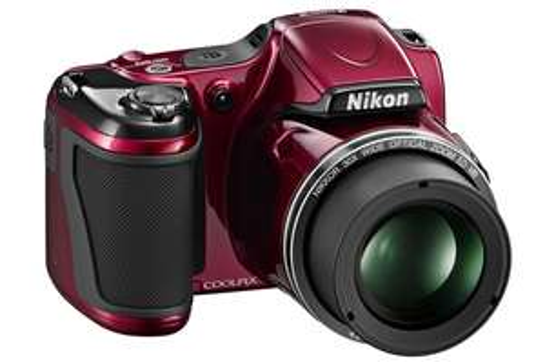 Appareil photo numérique bridge Nikon Coolpix L820 Rouge