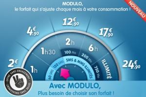 "Forfait mobile Prixtel ""modulo""+cashback"