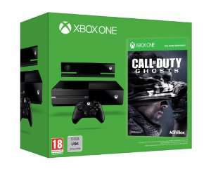 Console Xbox One + Call of Duty : Ghosts (En stock)