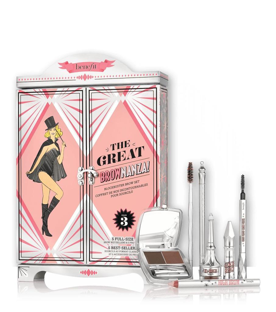 Coffret de 6 produits de maquillage pour sourcis The Great Brownanza - différentes teintes