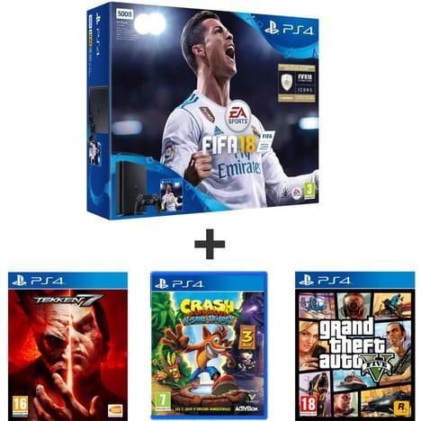 3 jeux suppl mentaires pour 10 pour tout achat d 39 un pack ps4 ex pack console sony ps4 500go - Jeux en ligne ps4 ...