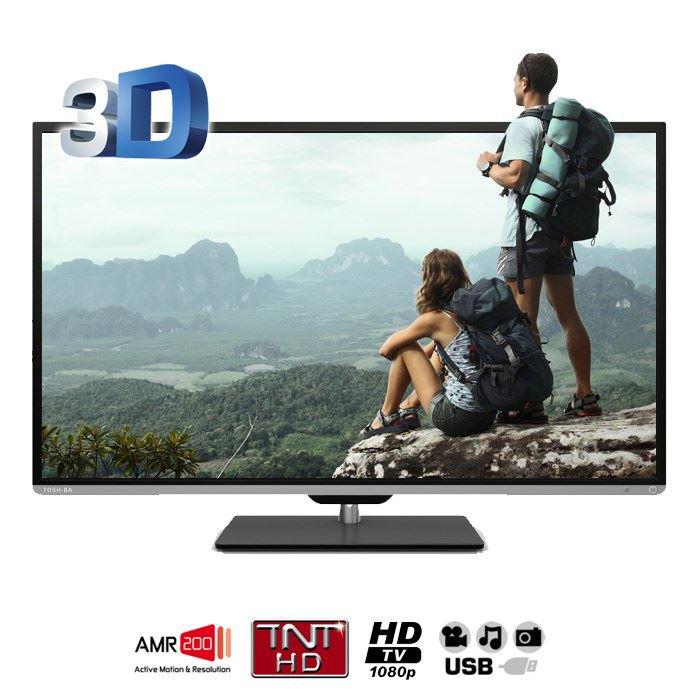 """TV LED 3D 50"""" Toshiba 50L5333DG (Avec ODR de 100€) 493.99€ via Buyster sinon"""