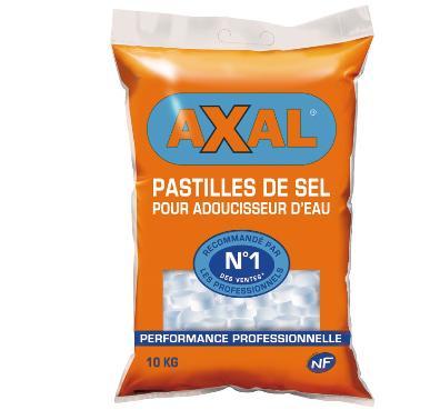 2 paquets de sel adoucisseur Axal - 10 kg