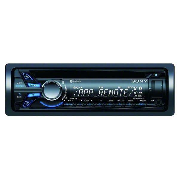 Sony MEX-BT3100U Autoradio CD / USB / Bluetooth (Avec ODR de 30€ )