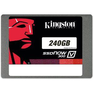 Kingston Technology - SSDNow V300 - Disque flash SSD interne 2,5'' SATA III - 240 Go