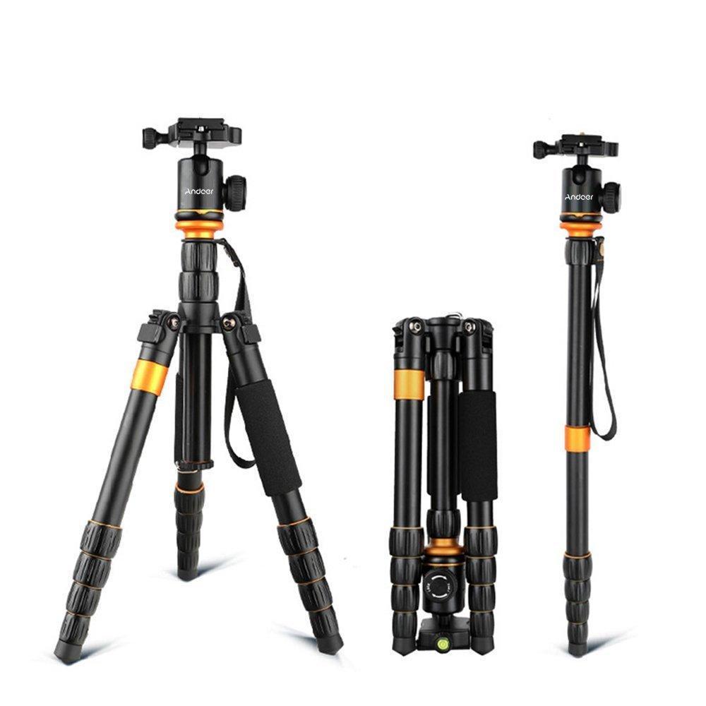 Trépied pour appareil photo Andeor - 72.5 - 132.5 cm