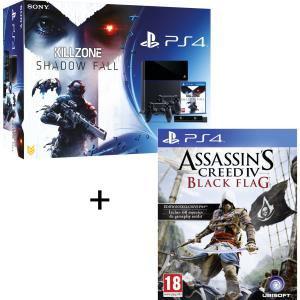 pack PS4 killzone + camera + 2 manettes + Assassin's creed EN STOCK