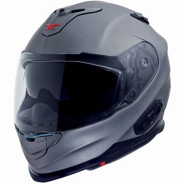 Casque de moto intégral Nexx XT1 - Gris, différentes tailles