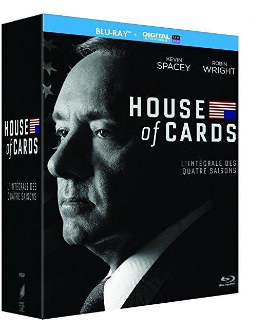 Coffret Blu-ray House of Cards - Intégrale des saisons 1, 2, 3, 4