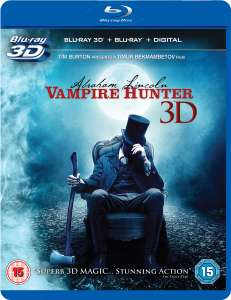 Abraham Lincoln, chasseur de vampires Blu-ray 3D