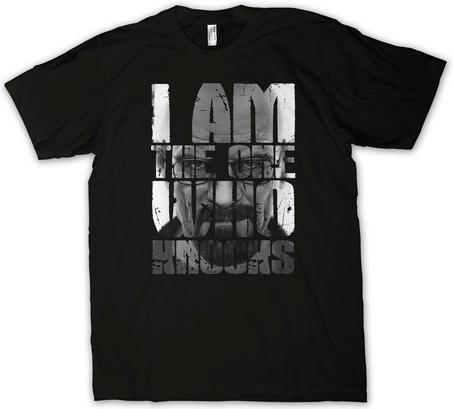 "Tee-Shirt Breaking Bad ""I Am The One Who Knocks"""