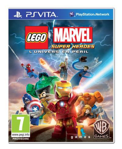 Lego Marvel SuperHeroes PsVita