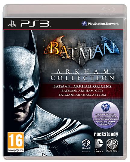 Batman Arkham Collection : Asylum, City et Origins - Sur PC à 23.95€, sur PS3 et XBOX 360