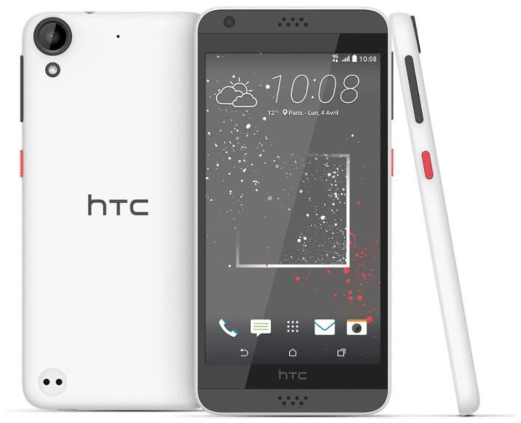 """Smartphone 5"""" HTC Desire 530 - 1.5 Go de Ram, 16 Go (via ODR de 40€)"""