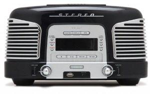 Micro chaine Teac SL-D920B style retro CD-Radio (MW/UKW-Tuner, AUX, USB)