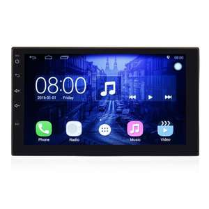 autoradio 7 2din hd gps avec cam ra de recul. Black Bedroom Furniture Sets. Home Design Ideas