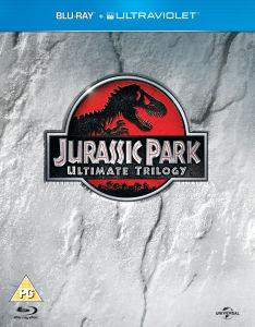 Trilogie Jurassic Park en Blu-Ray (Copie UltraViolet inclus)