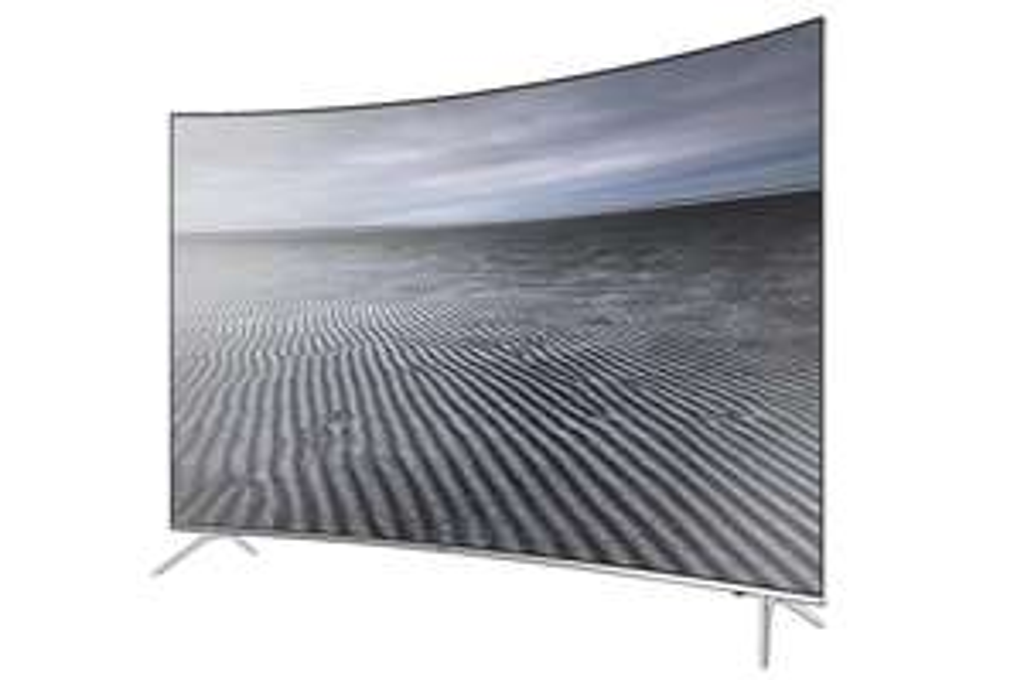 "TV 55"" QLED Samsung UE55KS7500 - 4K UHD, 10bits, Incurvée"