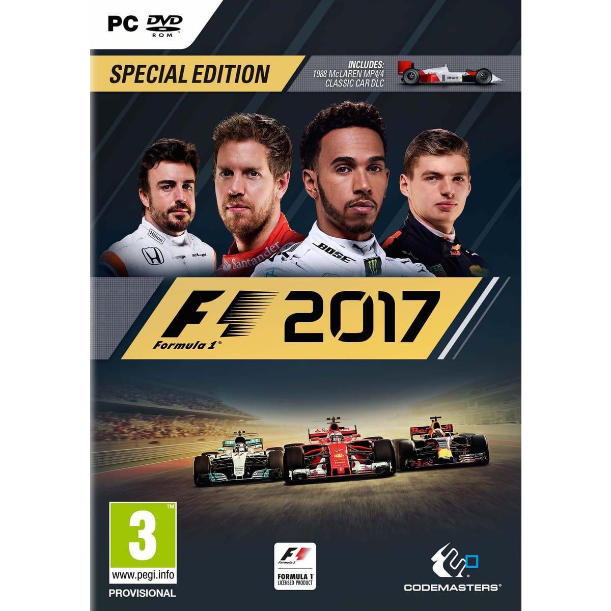 F1 2017 Special Edition sur PC