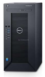 Mini Tour serveur Dell PowerEdge T30 - Xeon E3-1225V5 3.3GHz, 8go de RAM, Disque 1To, graveur DVD