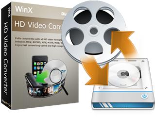 Logiciel PC WinX HD Video Converter Gratuit (et promos sur autres logiciels)
